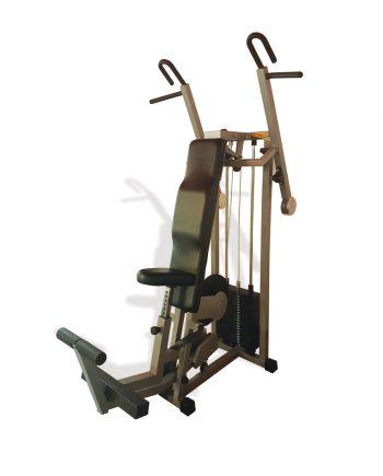 Aparat dorsali Technogym complet recondiționat, ideal atât pentru cluburi și săli de fitness, cât și pentru uz personal. FlexFit - Echipament Fitness.