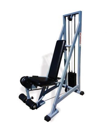 Aparat extensii coapse Panatta complet recondiționat, ideal atât pentru cluburi și săli de fitness, cât și pentru uz personal. FlexFit - Echipament Fitness